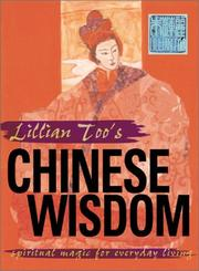 Cover of: Lillian Too's Chinese Wisdom