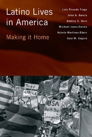 Cover of: Latino lives in America |