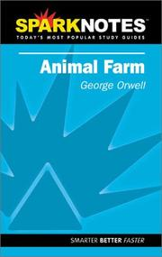 Cover of: Spark Notes Animal Farm | George Orwell