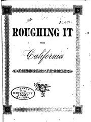 Cover of: Roughing it from California through France ... | Ben Goodkind