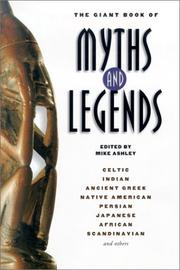 Cover of: The Giant Book of Myths and Legends