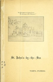 Cover of: St. John