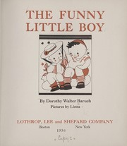 Cover of: The funny little boy
