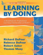 Cover of: Learning by doing |