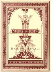 Cover of: Studies in Design | Christopher Dresser