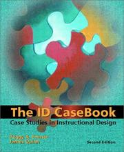 Cover of: The ID Casebook | Peggy A. Ertmer, James Quinn