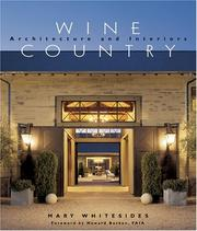 Cover of: Wine Country Architecture and Interiors | Mary Whitesides