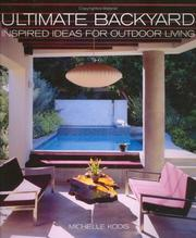 Cover of: Ultimate backyard