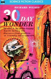 Cover of: 30 Day Wonder