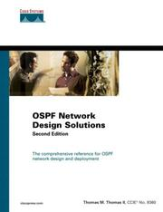 Cover of: OSPF Network Design Solutions