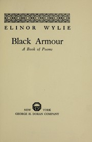 Cover of: Black armour