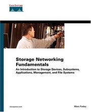 Storage Networking Fundamentals by Marc Farley