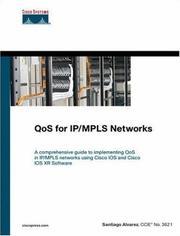 Cover of: QoS for IP/MPLS Networks (Networking Technology)