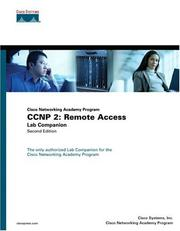 CCNP 2 by Cisco Systems Inc.