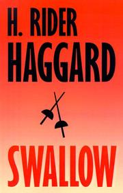 Swallow by H. Rider Haggard