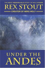 Cover of: Under the Andes