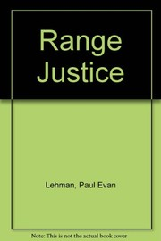Cover of: Range justice