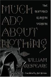 Cover of: Much Ado About Nothing by William Shakespeare