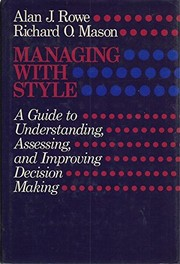 Cover of: Managing with style