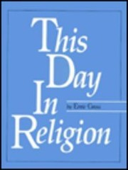 Cover of: This day in religion | Ernie Gross