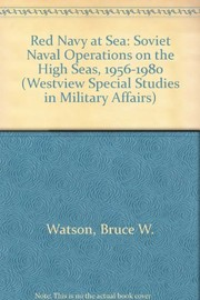 Cover of: Red Navy at sea | Bruce W. Watson