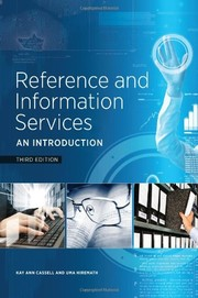 Cover of: Reference and Information Services: An Introduction, Third Edition