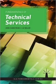Cover of: Fundamentals of Technical Services (Ala Fundamentals)