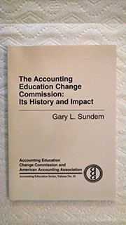 Cover of: The Accounting Education Change Commission