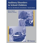 Cover of: Auditory disorders in school children |