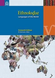 Cover of: Ethnologue: Languages of the World, 16th Edition |