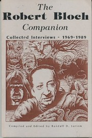 Cover of: The Robert Bloch companion