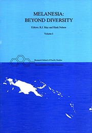 Cover of: Melanesia, beyond diversity