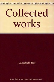 Cover of: Collected works | Roy Campbell