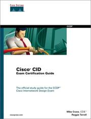 Cover of: Cisco CID exam certification guide by