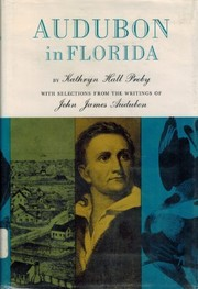 Cover of: Audubon in Florida. | Kathryn Hall Proby