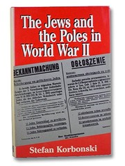 Cover of: The Jews and the Poles in World War II