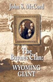 Cover of: Wyoming giant | John S. McCord