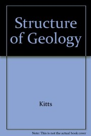 Cover of: The structure of geology, by David B. Kitts