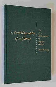 Cover of: Autobiography of a colony | Berry Fleming