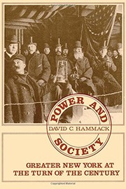 Cover of: Power and society