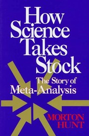 Cover of: How science takes stock | Morton Hunt