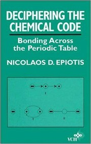 Cover of: Deciphering the chemical code | N. D. Epiotis