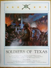 Cover of: Soldiers of Texas. |