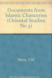 Cover of: Documents from Islamic chanceries | S. M. Stern