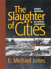 Cover of: The slaughter of cities