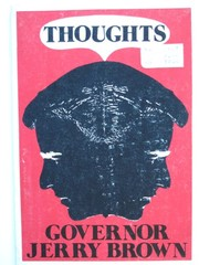 Cover of: Thoughts | Brown, Jerry