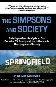 Cover of: The Simpsons And Society