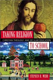 Cover of: Taking Religion to School