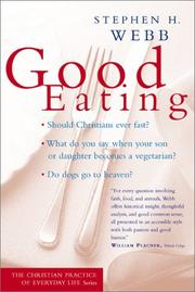 Cover of: Good Eating (Christian Practice of Everyday Life, The)