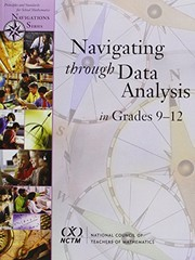 Cover of: Navigating through data analysis in grades 9-12 |